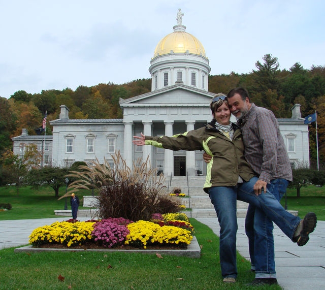 USA Reise 2009 State House in Montpelier Vermont
